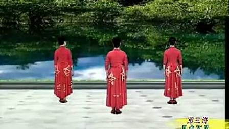 学跳杨艺形体舞绣红旗剪裁教学视频