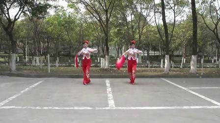 四川省第一套健身秧歌规定套路