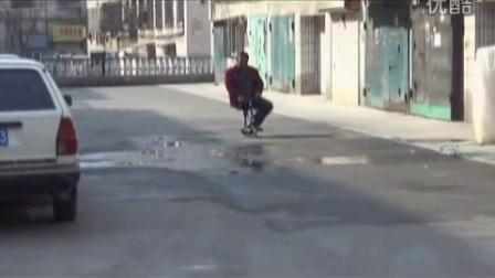 参加给北京国际辅具比赛的视频(可骑行拐杖)