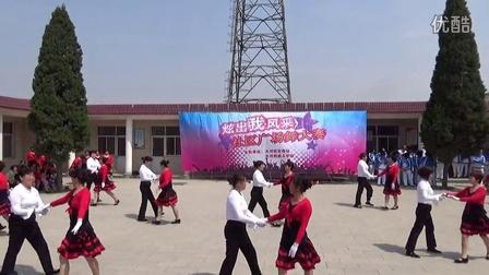 2015年5月鹿泉区大河镇广场舞比赛(大河村大舞台舞蹈代表队)