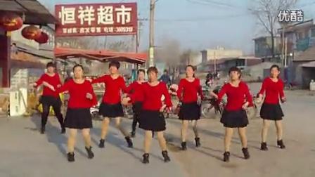 014汤头街道沙汀美菊健身广场舞-最炫民族风_高清