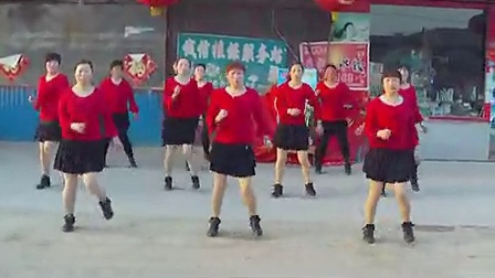 009汤头街道沙汀美菊健身广场舞-凤凰展翅_高清