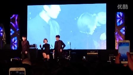 孙佳仁)&活力二人组Dynamic Duo 在韩国汉校庆阳大学 校庆现场 2015年5月21号