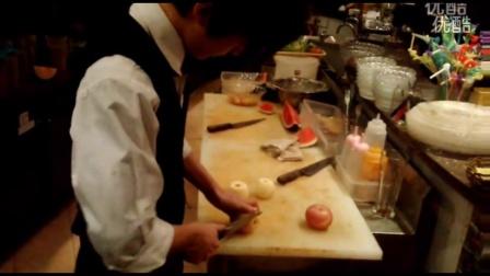 削水果-吧台削水果