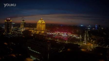 五邑大学 延时摄影 北主楼视角