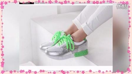 2015春季新款镂空网鞋平跟女鞋 内增高系带深口休闲单鞋女5811