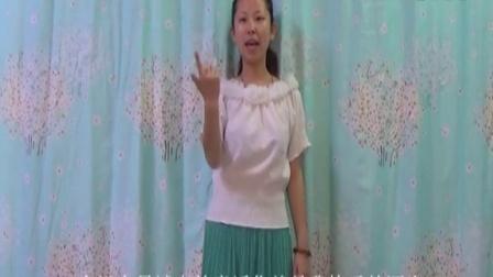 《你就是我最想要的丫头》王海力手语教学完整版