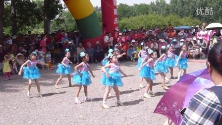 红日升幼儿园文艺演出 孤单芭蕾
