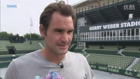 Roger Federer Says Grass Makes Him Smile - Halle 2015
