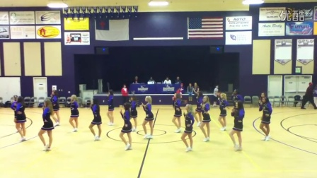 Cheerleading halftime _)