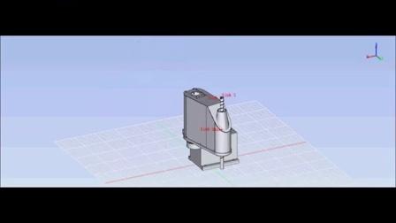 基于AnyCAD的机器人运动仿真