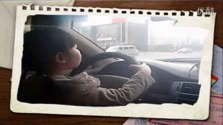 惊尿!5岁女孩开车,爸爸坐后排录像!