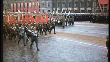 [中俄字幕]1945年6月24日莫斯科红场卫国战争胜利阅兵式