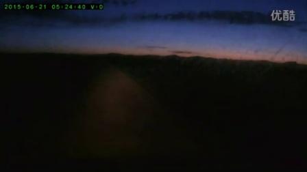 黎明驱车去采日玛日出拍摄地