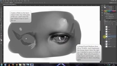 如何画眼睛? - digital painting tutorial