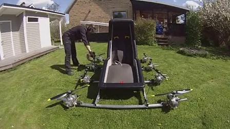 老外的载人油动多轴!