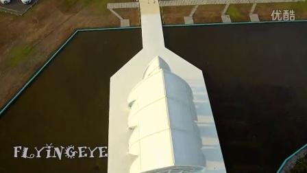 Flyingeye台南水晶教堂,台南瓦盤鹽田,台南扇形鹽田空拍素材,空拍機亞拓690L,相機nik