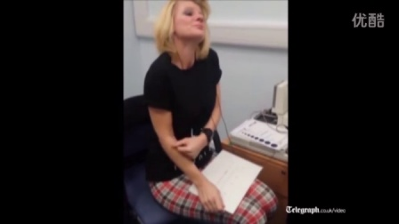 Deaf woman hears for the first time