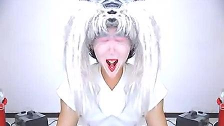 """小道士表演""""变脸""""—黑白变脸大猩猩_yy神曲"""
