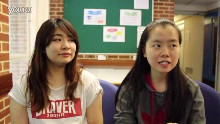 Natsumi和Michelle谈布莱顿的超市