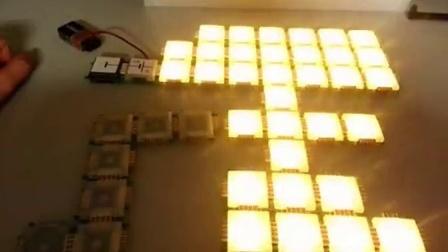 LED可编程发光模块