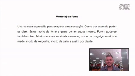 Expressões idiomáticas em português. (Video 5)