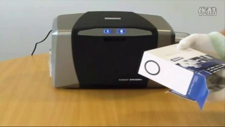 HID Global_如何安装DTC1250e证卡打印机色带_中文