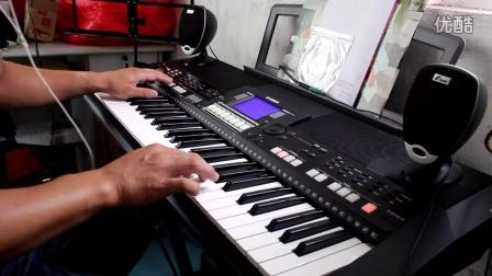 雅马哈 PSR-S550B电子琴演奏千千阙歌