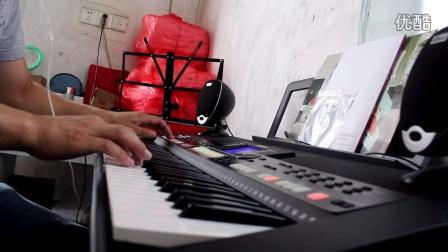雅马哈 PSR-S550B电子琴演奏西游记插曲女儿情