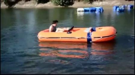 车载双面承载充气船-功能演示