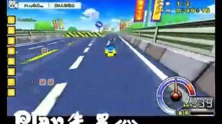 精彩的城镇高速公路个人竞速赛