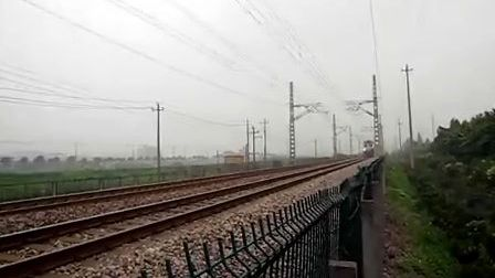 萧甬铁路线(衙前村拍车)一K8499次