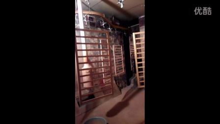 超雨机电婴儿床静电涂装机  专业全自动喷漆设备厂家