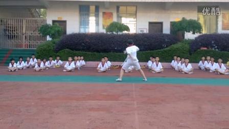 武术散打和跆拳道基本功训练 小孩子暑假班训练成果