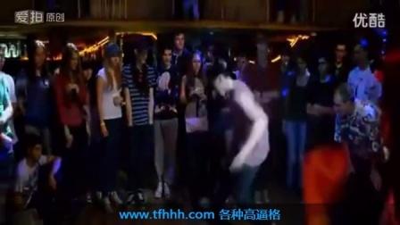 【舞蹈】鬼步舞俄罗斯大神 T1M FINI 斗舞现场 街舞_标清