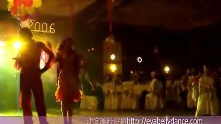 沈宜璇肚皮舞-埃及亚历山大舞蹈夜总会演出