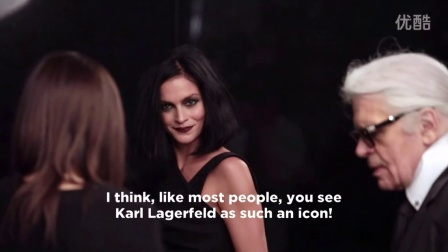 KARL LAGERFELD AW15 Campaign  Making of