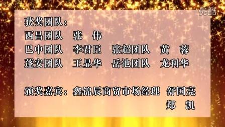 蜘蛛王鑫锦辰商贸2015年度优秀团队奖[新视听演艺传媒出品]