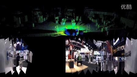RE05 3D-LiDAR & REV25 VISION - RGB Point Cloud Demonstration