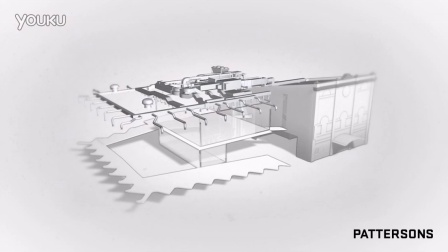 Len Lye Centre Build Animation
