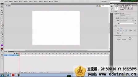 FlashCS5零基础入门案例视频教程第06课 Deco工具使用和时间总合作用