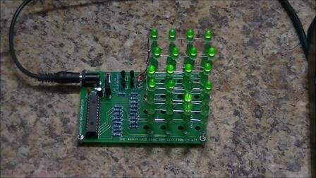 创意台灯,4*4*4灯立方,64个led上千种排列组合灯光