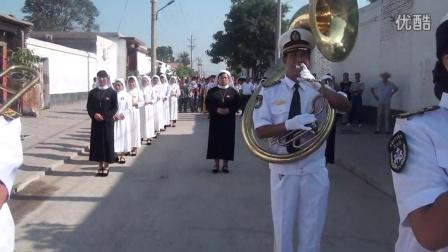 2015年前曹庄天主教会军乐团圣母升天节6