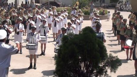 2015年前曹庄天主教会军乐团圣母升天节10