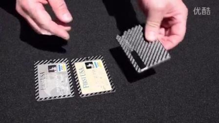 碳纤维钱包,极致轻薄和坚硬,外软内硬手感极佳