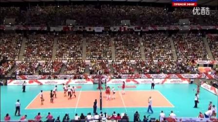 2015年女排世界杯  日本VS俄罗斯