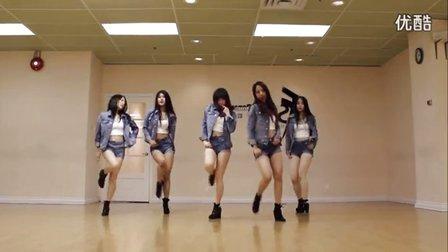 韩舞:EXID -Ahh Yeah 舞蹈练习