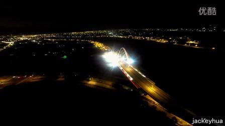 烏日斜張橋夜拍 [M470] Gopro 3+