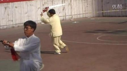 定州侠义武馆杯太极拳 。剑比赛