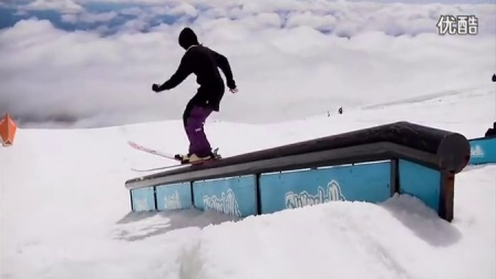 完美视觉震撼!唯美超极限滑雪!